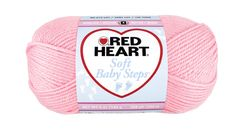 Baby Pink Soft Baby Steps Yarn | Red Heart