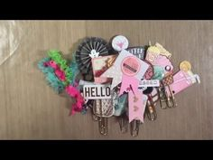 DIY PLANNER PAPER CLIPS | hoard | - YouTube - Cindy4Kiddos