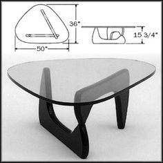 Famous Isamu Noguchi table. Eclectic Furniture, Table Furniture, Furniture Making, Furniture Design, Noguchi Coffee Table, Coffe Table, Distressed Kitchen Tables, Living Room Entertainment Center, Mid Century Coffee Table