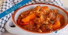 Bec's Go-To Stew in the Thermomix