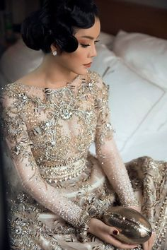 Lý Nhã Kỳ @ Cannes 2017 Costume Dress, I Dress, Party Dress, Pakistan Bridal, Beaded Dresses, Wedding Wows, Fashion Forever, Stunning Dresses, Couture Collection