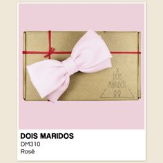 #GravataBorboleta #Casamento #Pajens #Bowtie #DoisMaridos #Rosa #Rose