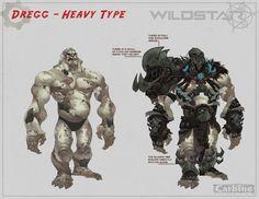 Dregg Heavy Type