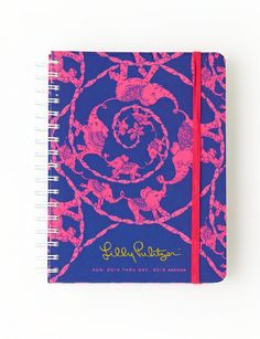 Lilly Pulitzer Large Agenda in Loopy.  I want for the upcoming school year.