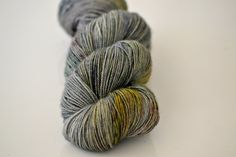 Bluefaced Leicester Twist - Fingering Weight - OOAK Paintbox Grey- Suzy Parker Yarns - Superwash 100g approx 365meters/399 yards