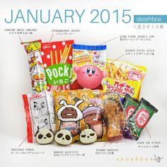 SKOSHBOX.COM | Japanese Subscription Box- Current Box