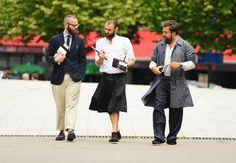Homens de saia – Como usar saia masculina? – Armário Masculino