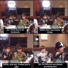Nice Maknae JK ft. Savage Yoongi and Provoked Hobi