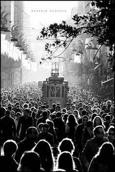 Istiklal - almost always this crowded.