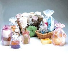 12Pc Mixed Organza Drawstring Bags Small Gift Pouches Bag for Wedding Favors