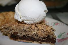 A classic southern pie, made with chocolate and pecans and affectionately known in the south as Dixie Pie is sure to please. Use half and half brown sugar and granulated, add a nice dose of Kentucky bourbon and mix it all together before adding to the pie shell, and you'll have something akin to a copycat Derby pie.