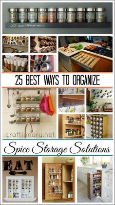 25 Best Ways to Organize spices