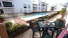 Apartment with shared pool to rent in Lagos - Meia Praia