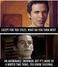 you and me styles.. it's a seasonal thing too #teenwolf