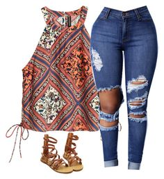 """Untitled #801"" by prettygirlnunu ❤ liked on Polyvore featuring H&M"