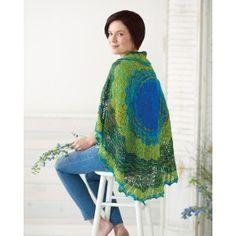 Pi Shawl Knitting Pattern | InterweaveStore.com