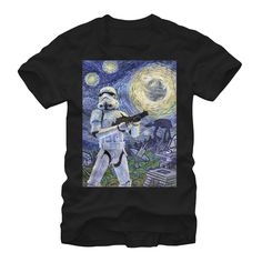 Star Wars Men's - Stormtrooper Starry Night T Shirt