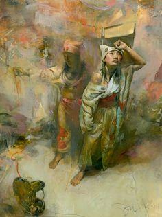 Painter Kent Williams
