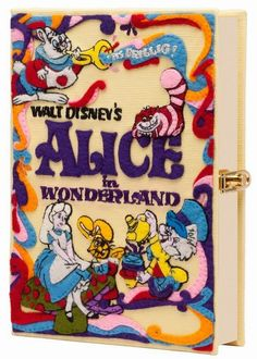 Olympia Le-Tan Disney Movie Book Clutches