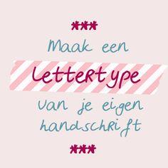 Maak van jouw handschrift een uniek lettertype, die je gewoon op je computer overal voor kunt gebruiken. Met deze gratis tool maak je handschrift digitaal!