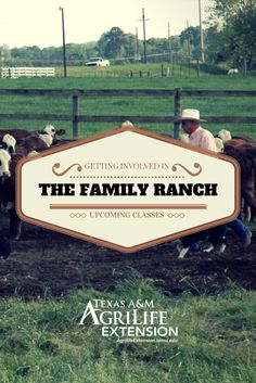Taking over the Family Ranch?  See these upcoming classes about how to run a successful agricultural business.