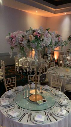 Parkinn Punjabi wedding statement centrepieces look stunning in these light pink floral designs. Quince Centerpieces, Quince Decorations, Wedding Centerpieces, Quinceanera Centerpieces, White Wedding Decorations, Party Decoration, Luxury Wedding Decor, Wedding Table Setup, Wedding Stage