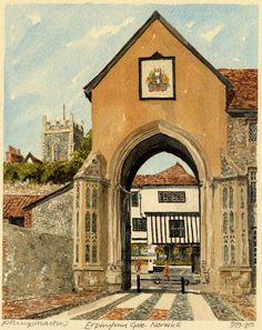 Norwich - Erpingham Gate - Portraits of Britain