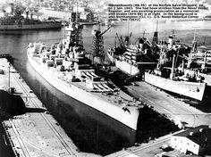 ✯♫)ڿڰۣ(̆̃̃✞U.S. Navy Battleships - USS Massachusetts (BB 59)✯♫)ڿڰۣ(̆̃̃✞