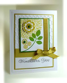 7/3/2012; Chat at 'Me, My Stamps and I' blog using SU products; Betsy's Blossoms +