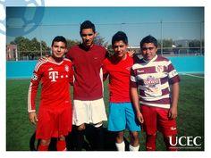 Segunda copa  de fútbol rápido UCEC.