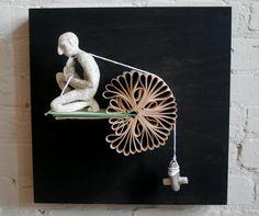 Books Rock Original Sculpture par Kenjio sur Etsy
