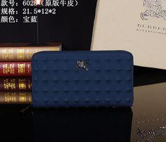 Burberry Clutch Bag 6028 Blue