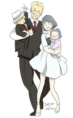 When they were invited to a formal party. Naruhina, Naruto Comic, Naruto Sasuke Sakura, Sarada Uchiha, Hinata Hyuga, Anime Naruto, Naruto Shippuden, Anime Manga, Naruto Gaiden