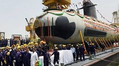 INS Kalvari-Scorpene Submarine,Indian Navy Kalvari is one of Indian Navy's 6 Scorpene class stealth submarines which has been developed indigenously. This s