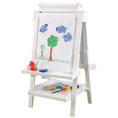 Staffli med griffeltavla och whiteboard