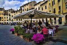 Town of Lucca, Tuscany