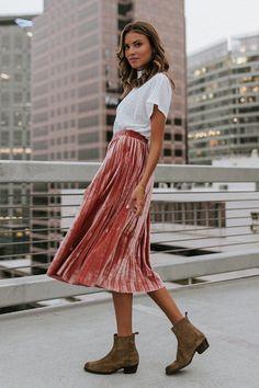 Puns N' Roses Skirt – cladandcloth $48