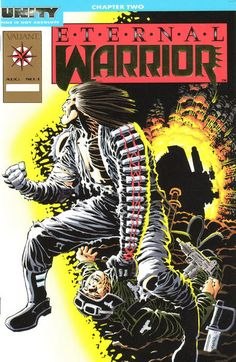 Cover for Eternal Warrior (1992 series) #1 [Gold logo edition]