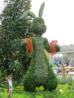 topiary festivals | ... Flower & Garden Festival 2011; Topiary | Rori Travels Florida