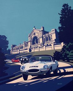 Classic and Sports Car Show artwork revealed | Classic and Sports Car