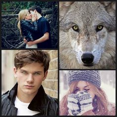 My own collage of Sam Roth & Grace Brisbane from the Shiver series. By Janessa Beth Dayley