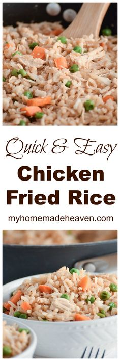 This is one of our quick, go-to meals! So easy and filling, our whole family loves it!