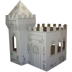 Corrugated Castle  - Out of the Box -  3 - 4 Years - FAO Schwarz®