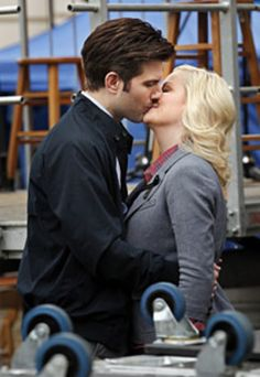 Ben Wyatt and Leslie Knope from Parks and Recreation