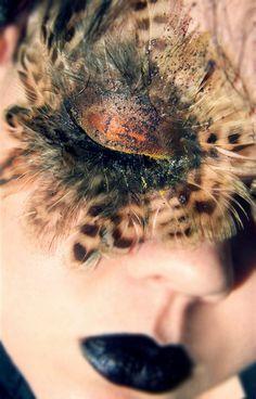 Pheasant Plumage Eye Lashes