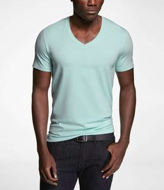 Love the Express STRETCH COTTON DEEP V-NECK TEE on Wantering | $11 | sale price | Boxing Week for Him | mens tee | mens t-shirt | menswear | mens style | mens fashion | wantering http://www.wantering.com/mens-clothing-item/stretch-cotton-deep-v-neck-tee/agum4/