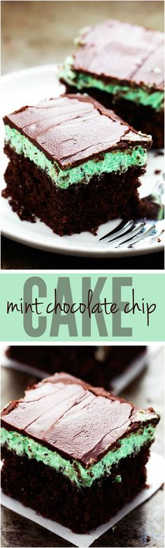 A delicious moist and tender chocolate cake layered with a mint chocolate chip buttercream and topped with a mint chocolate ganache. This is a wonderful cake and perfect for the holidays!