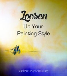 How to achieve a looser painting style. Tips and examples from Sara on how she uses a freestyle approach to experiment with new painting styles!