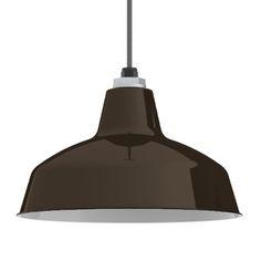 Ivanhoe™ Avalon Warehouse Porcelain Pendant | RLM Ceiling Light