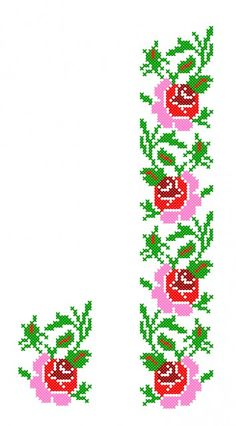 Thrilling Designing Your Own Cross Stitch Embroidery Patterns Ideas. Exhilarating Designing Your Own Cross Stitch Embroidery Patterns Ideas. Cross Stitch Borders, Cross Stitch Flowers, Cross Stitch Designs, Cross Stitch Patterns, Ribbon Embroidery, Cross Stitch Embroidery, Embroidery Patterns, Palestinian Embroidery, Brazilian Embroidery